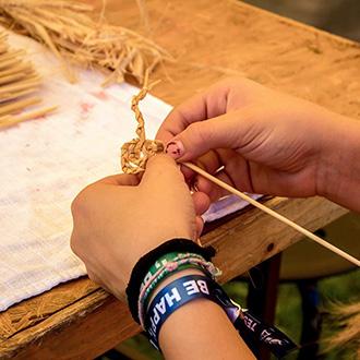 Képzőművészet a PEOPLE TEAM nyári táborában