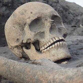 Régészeti lelet a PEOPLE TEAM régészeti témájában