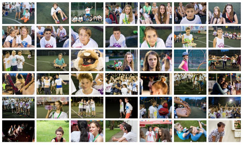 42 tábori fotó a PEOPLE TEAM-táborból