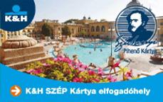 K&H SZÉP-kártya-elfogadóhely