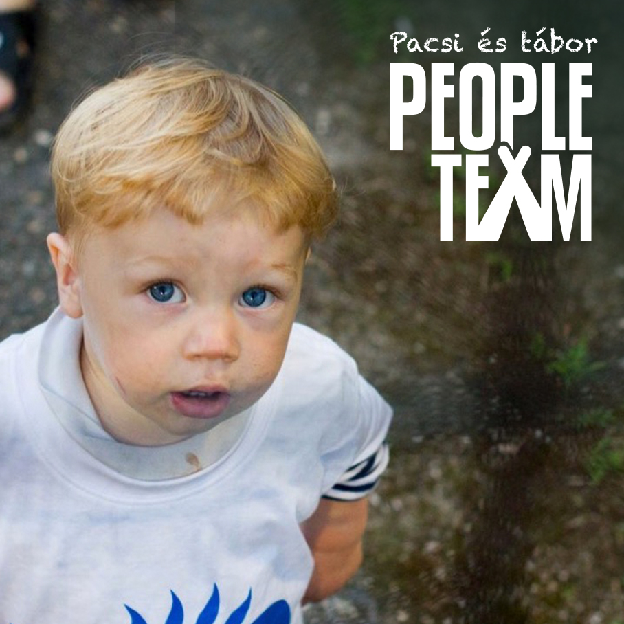 PEOPLE TEAM-táborban kisgyerek