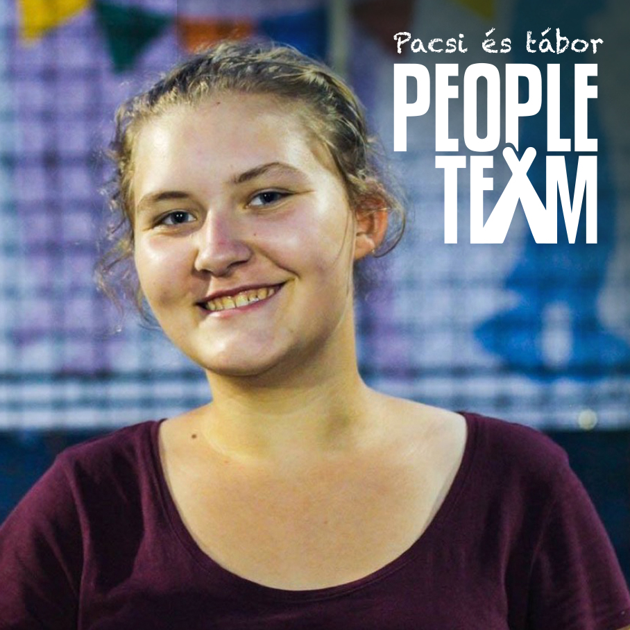 PEOPLE TEAM-táborozóról arckép